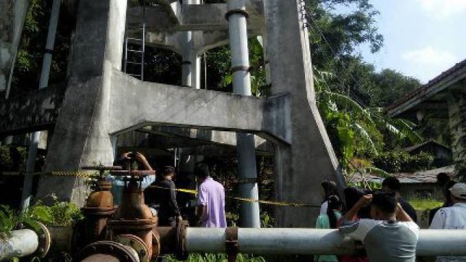 L'enquête continue sur la mort de l homme retrouvé sous la tour d'eau