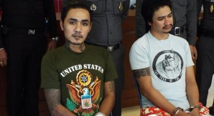 Les deux gardes de sécurité ont été accusés pour l'assassinat à Patong du Français