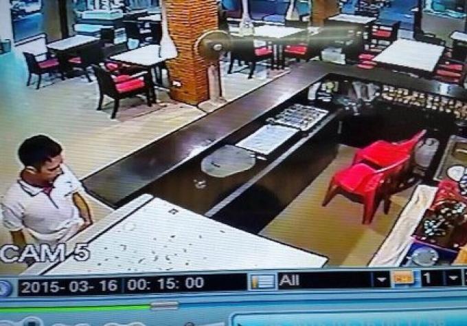 Le pakistanais pincé après le vol de B200k dans un hôtel de Patong