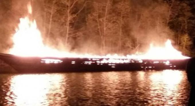 Les batteries sont à blâmer dans l'explosion d'un bateau cargo