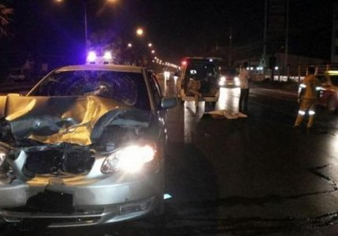 Un homme tué à Phuket par une collision sur Thepkasattri Rd