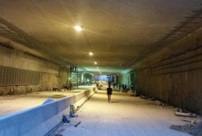 Le passage souterrain Samkong ouvre dimanche mais pas complètement terminé avant Juillet
