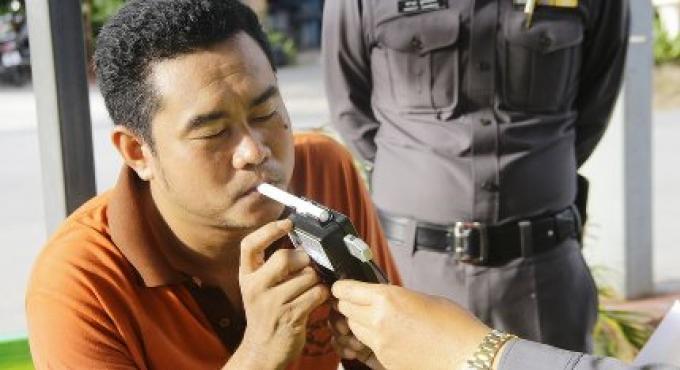 1.740 conducteurs ayant bu ont été arrêtés à l'échelle nationale ce week-end