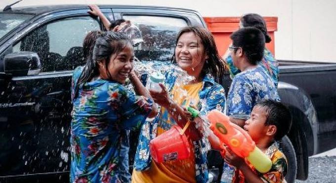 Festival de la Songkran à Phuket