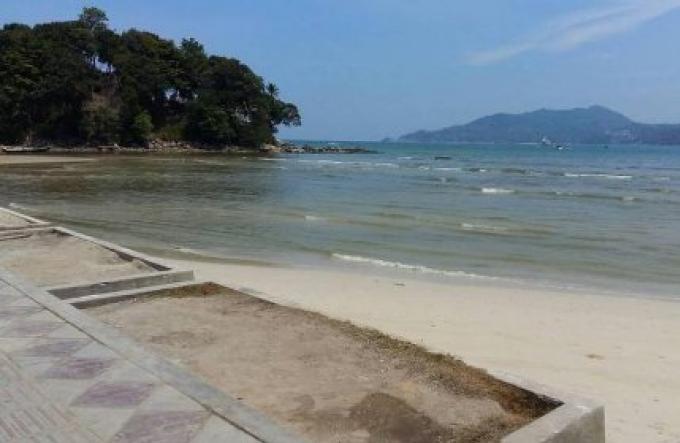 Les algues sont à blâmer pour l'eau trouble dans la baie de Patong