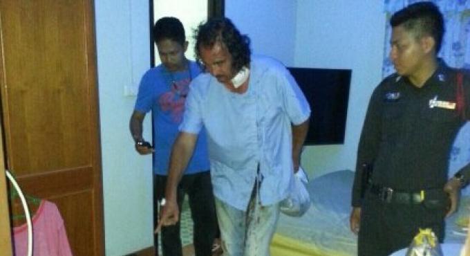 Un Allemand à Phuket survit d'un coup dans le cou, fait avec un ciseau par sa petite amie jalouse