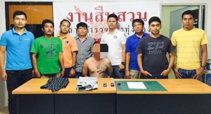 La police de Phuket a été menacée par le tueur de sa mamie lors de l'arrestation