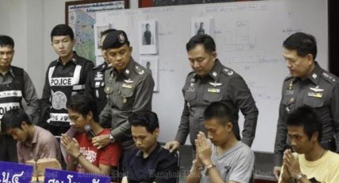 Quatre fils de la police liés à une bagarre mortelle