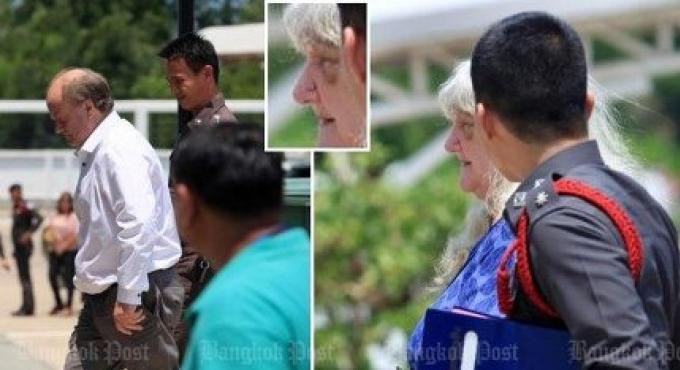 Le couple britannique âgés battus ne reviendront plus en Thailande