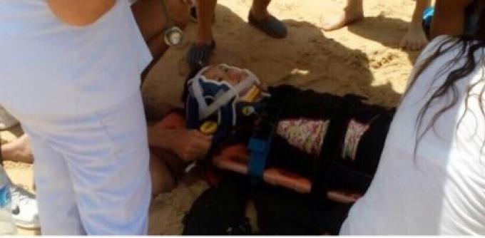 Une touriste chinoise de 9 ans hospitalisée après un accident de parachute à Phuket