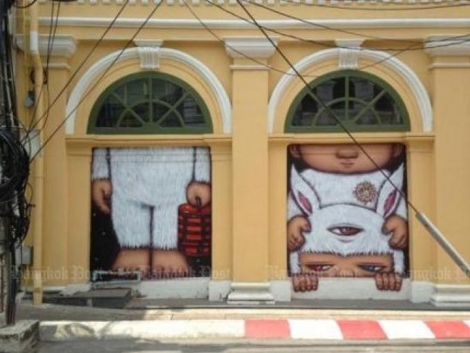 Artiste de rue Alex effacera son travail