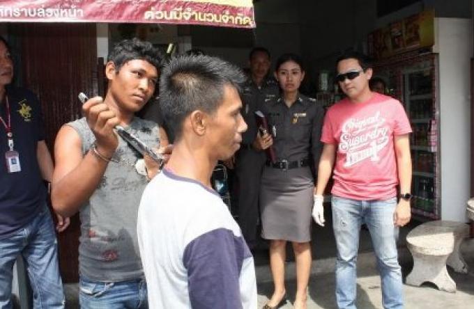 L'homme birman a poignardé un autre homme du Myanmar