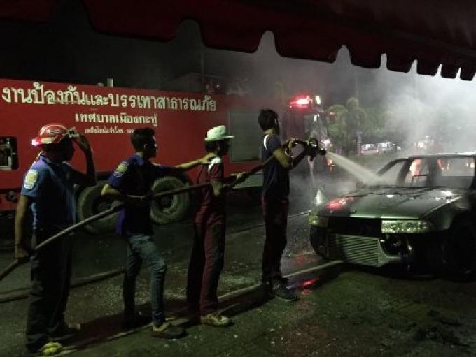 Un homme à Kathu a été accusé d'incendiaire, de mauvais stationnement et de menace sur la police