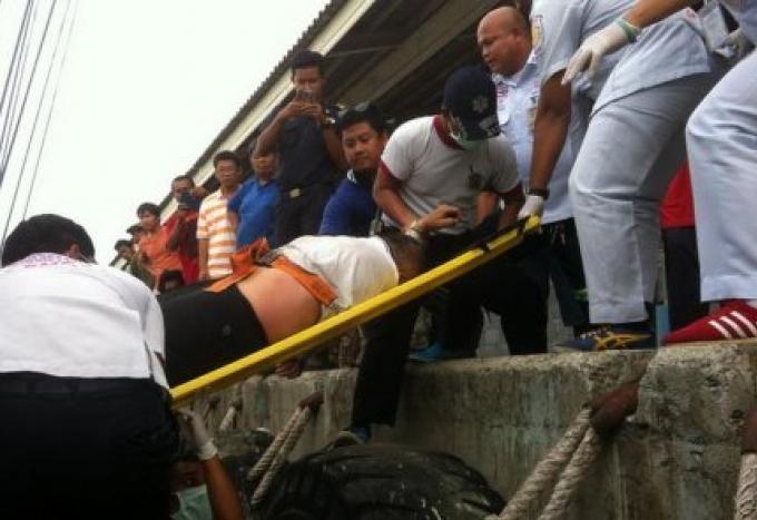 Un capitaine d'un bateau de pêche hospitalisé après avoir été asphyxié par une fuite d'ammonia
