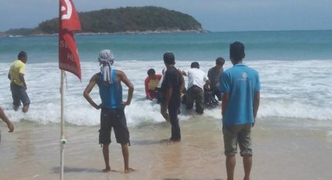 Le corps de l'homme de nationalité du Myanmar déclaré manquant a été retrouvé échoué sur la