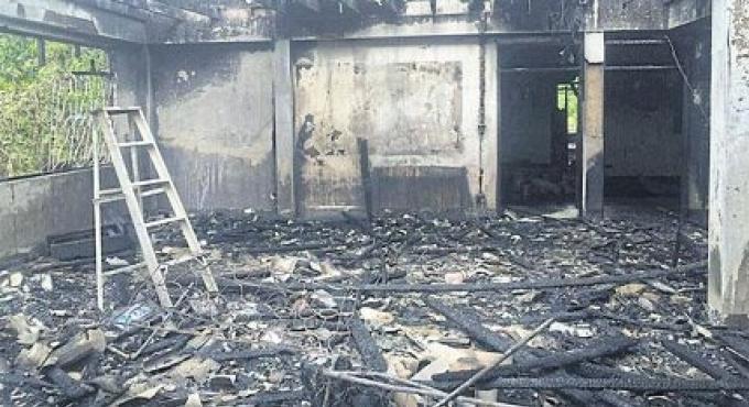 Un feu horrible frappe l'école des filles de Chiang rai
