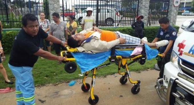 Une enseignante américaine de Phuket échappe à de graves blessures qui auraient pu être causée