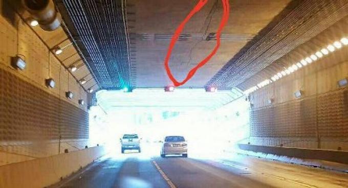 Le crac du passage souterrain est juste une ombre, explique le chef du bureau des routes