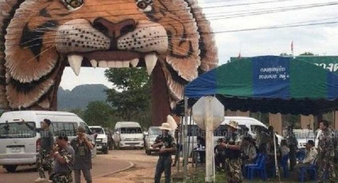 La police enquête sur des liens probables d un marché noir du Tiger Temple