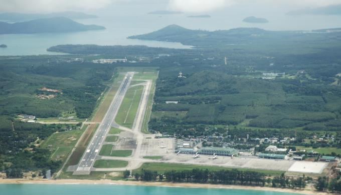 Aucune interdiction des vols chartes, confirme AOT Phuket officielle