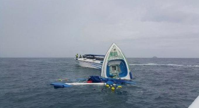 L'enquête sur l'écrasement mortel des hors-bord au large de Phuket est toujours en cours