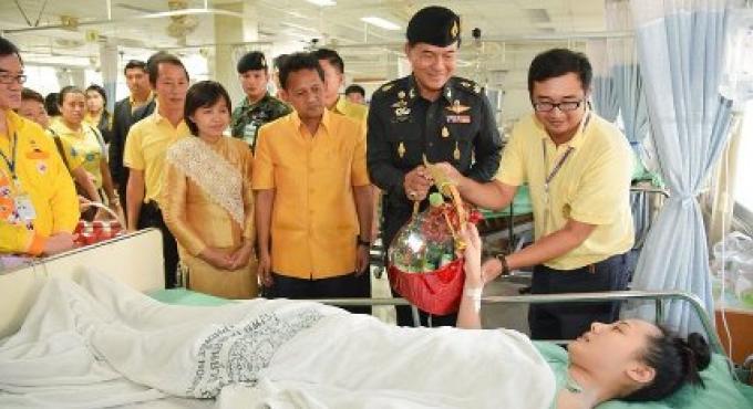 Une des personnes blessées dans l'accident du bateau a subi une intervention chirurgicale hier