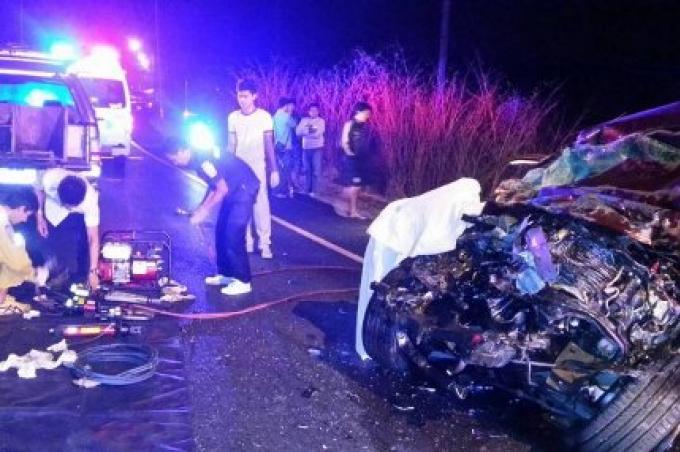 2 morts tot ce matin dans un accident à Phuket