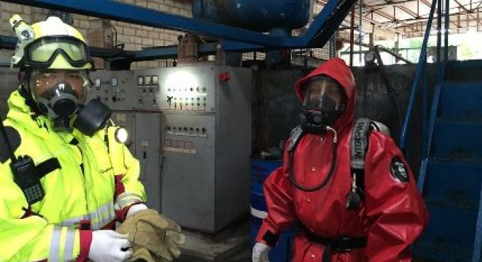 Une fuite d'ammoniac a fait fermer une fabrique de glace à Phuket