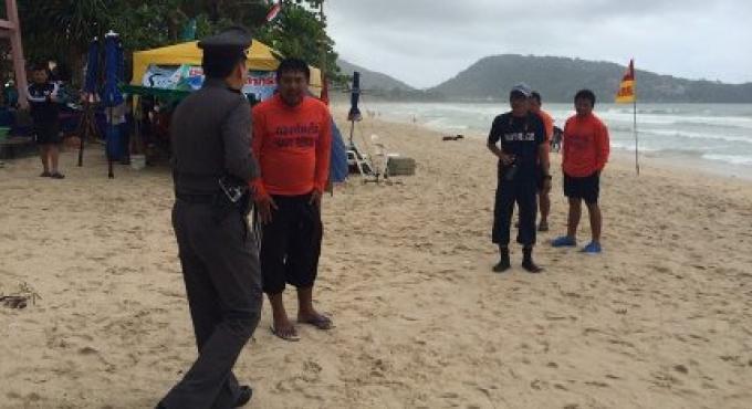 La recherche continue pour l'homme de Corée porté disparu à Phuket