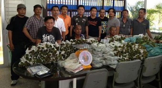 Deux hommes arrêtés à Phuket avec 45 kilos de kratom