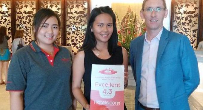 Mövenpick Resort & Spa de Karon Beach à Phuket remporte le prix d'excellence