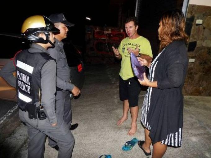 La police clarifie les accusations portées sur l'australien samedi