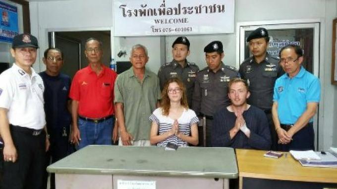 [VIDEO] Des étudiants condamnés à une amende pour une fellation en public à Koh Phi Phi !