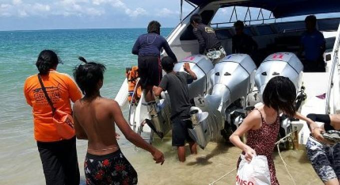 Un touriste chinois est en réanimation suite à un incident de noyade au large de Phuket