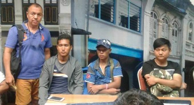Quatre étrangers arrêtés pour travailler illégalement sur Phuket