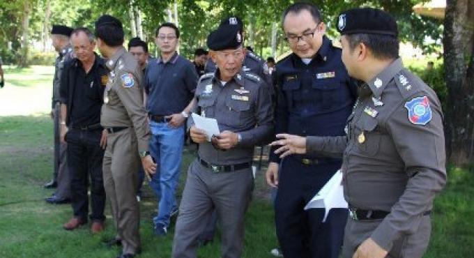 Les responsables sont allés sur l'île de Koh Yai Yai au large de Phuket pour enquêter