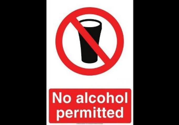 L'alcool interdit pendant l'election du référendum