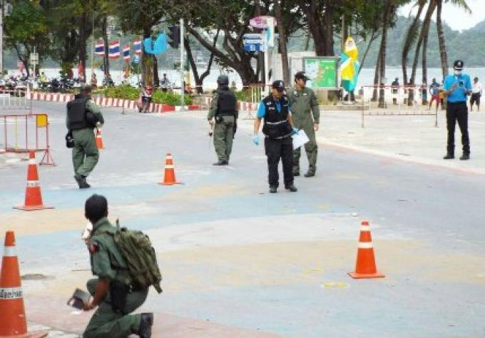 Deux explosions de bombe à Patong une troisième trouvée
