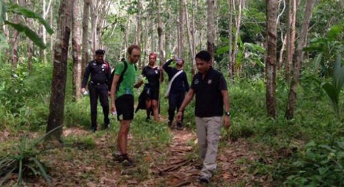 Deux randonneurs britanniques perdus ont été retrouvés dans la forêt de Koh Chang