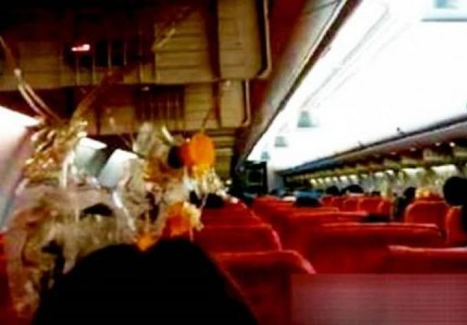 Orient Thai refute les allégations que son personnel était paniqué durant l'atterrissage d'urgenc