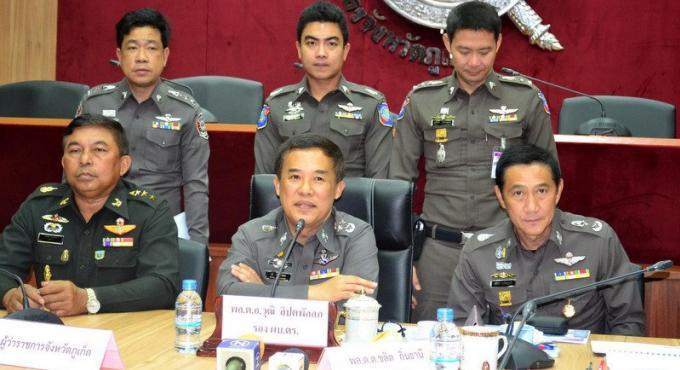 Après les attentats de Patong, le chef de la police rassure les touristes, Phuket est sure.