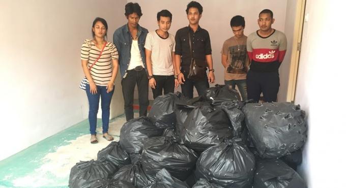 Six personnes arrêtées lors d'une saisie de kratom au nord de Phuket