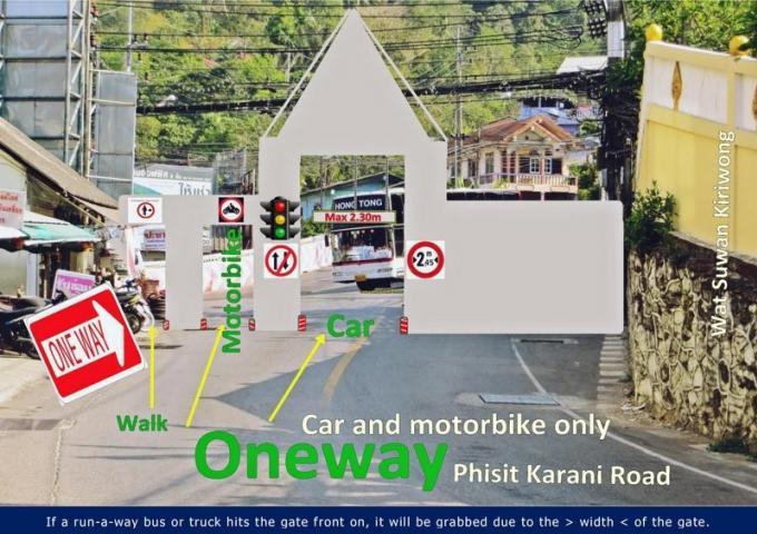 Des habitants de Patong en colère s'unissent contre les cars de tourisme