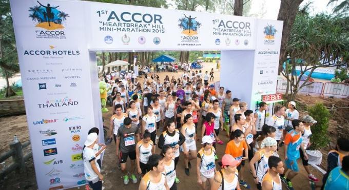 2ème Mini-Marathon 'Heartbreak' des Hôtels Accor