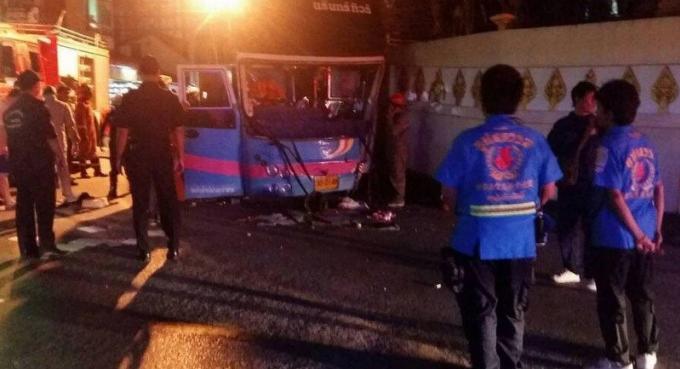 Le chauffeur du car qui s'est crashé à Patong Hill a été relâché après avoir écopé d'un