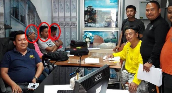 Une unité de Phuket attrape trois guides touristiques clandestins