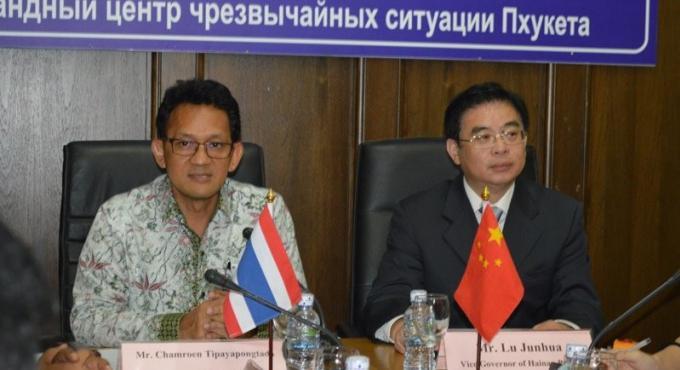 Hainan, ville chinoise jumelée avec Phuket propose plus de vols directs entre la Chine et Phuket