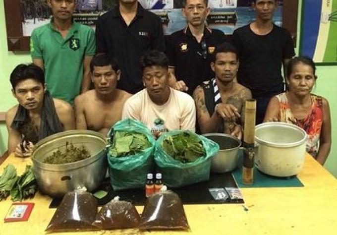 Cinq birmans arrêtés dans deux raids sur  Phuket