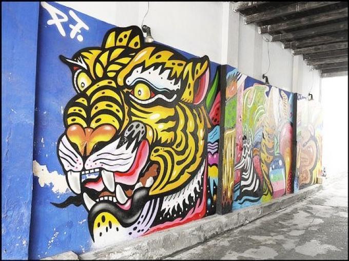 Le Street art à Phuket Town