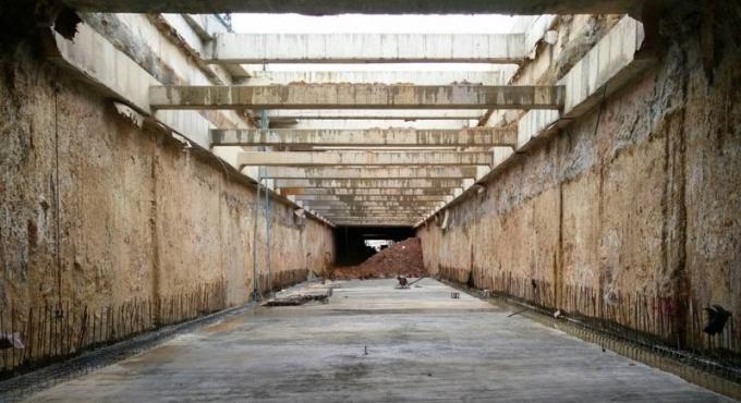 Les travaux d'excavation du tunnel de Bang Ku sont terminés
